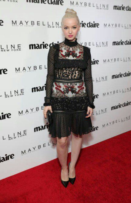 Dove Cameron at Marie Claire Event.