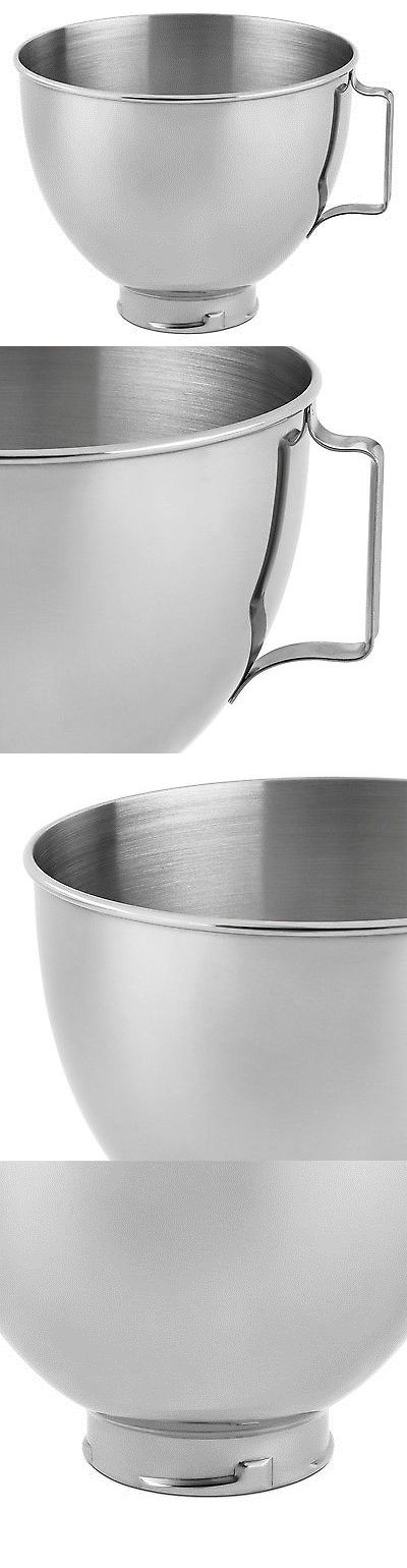 Mixers Countertop 133701: Kitchenaid Stainless Steel Bowl K45sbwh 4.5-Quart 1 -> BUY IT NOW ONLY: $37.42 on eBay!