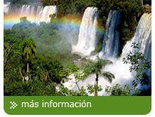 Tours y viajes a Las Cataratas de Iguazu en Bus o en avion Tours a Cataratas del Iguazu en lado Argentino y Brasilero, visite Las Ruinas de San Ignacio y Minas de Wanda. Aventura en la selva viajando en bus.