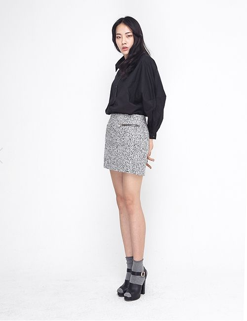 WOOL MINI SKIRT http://arcloset.com/product_view.php?gs_idx=BO140004SK