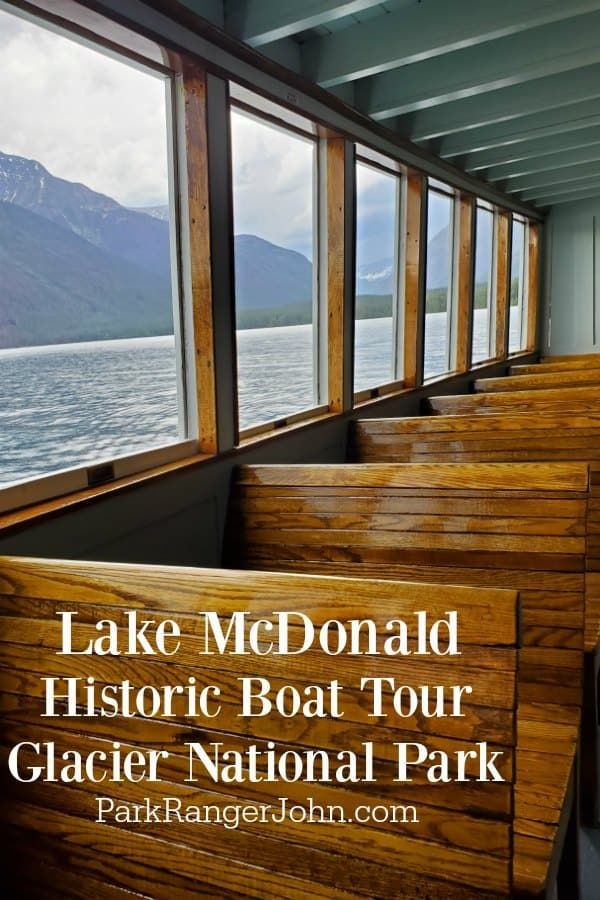 Lake McDonald Boat Tour