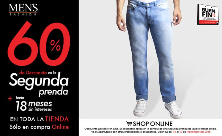 Un look relajado y fresco usando unos #jeans.   Dale clic ya: www.mensfashion.com.mx