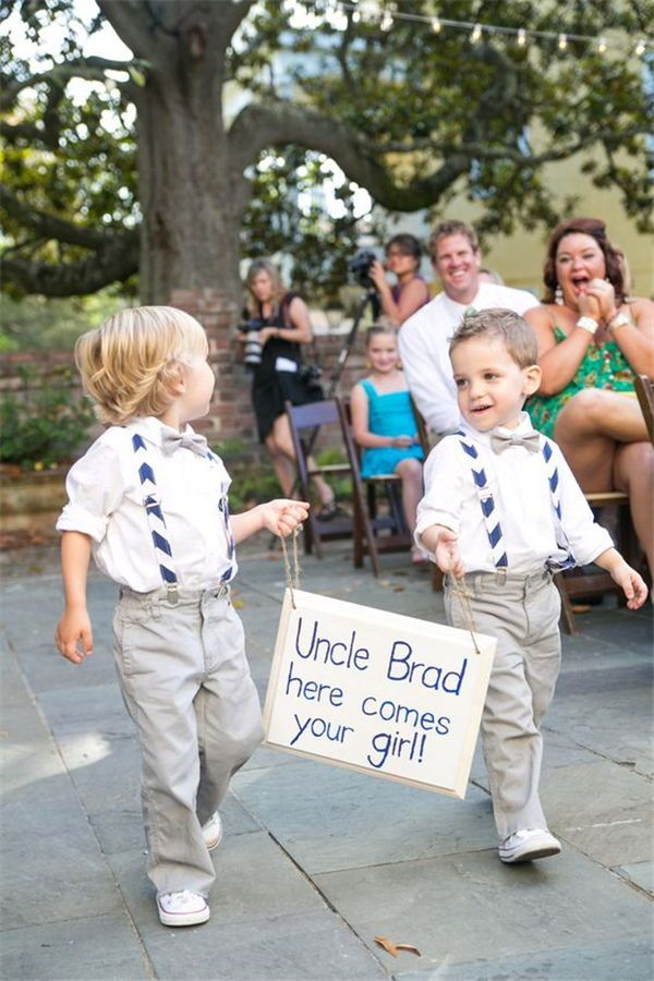 18 Ring Bearer Signs Ideas Too Funny Not To Try Ringbearer