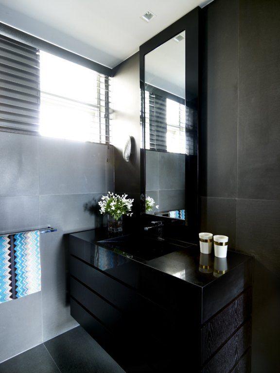 Best Dark Bathroom Vanity Images On Pinterest Bath Ideas - Luxury decorative hand towels for small bathroom ideas