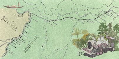Em Rondônia, onde a expectativa de desenvolvimento está na geração de energia hidrelétrica e no agronegócio, o destino da lendária Madeira-Mamoré é sair da memória Existe um pedaço do Brasil, na isolada fronteira de Rondônia …
