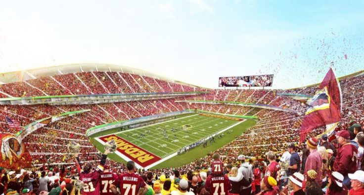 Great shot of the #Redskins home field.