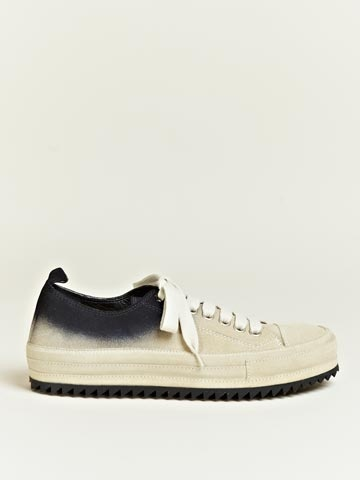 Ann Demeulemeester Men's Scamosciato Contrast Colour Trainers