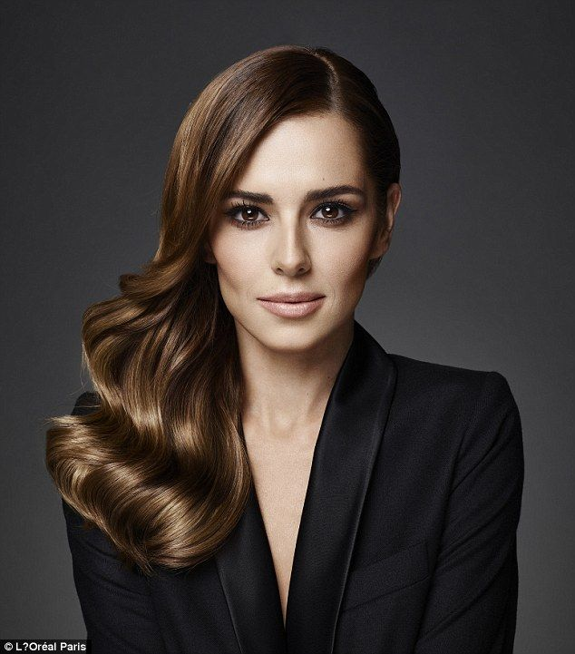 Natural beauty: Cheryl wears Preference Infinia shade 5.3, RRP £7.99, available nationwide...