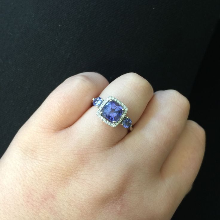Tantalising Tanzanite (the birthstone for December) is the perfect gift for a December birthday. Available in-store now. #mazzucchellis #december #decemberbirthday #birthday #birthstone #tanzanite #decemberbirthstone #giftideas #giftsforher #jewellery #gifts #love #memories