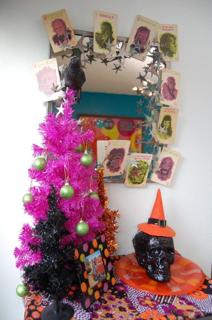 Spooky Halloween Trees - Tinsel Trees Are No Longer Just For
