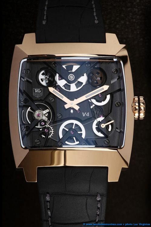 Tag Heuer Monaco v4 Red Gold my dream watch