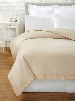 62% OFF JOHN ATKINSON by Hainsworth Duchess Blanket (Champagne)