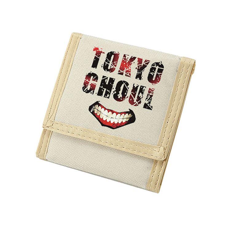 Tokyo Ghoul Wallet with Zip Coin Change Pocket 6 Credit Card Wallets for Men #Affiliate