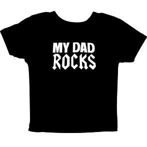 My Dad Rocks Barn T-shirt