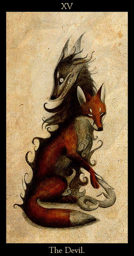 Le Diable by Skia.deviantart.com on @deviantART