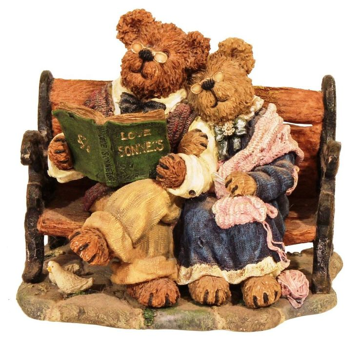 Boyds Bears Figurine ALBERT AND IDA...TOGETHER FOREVER 1E/689 #227798 W / Box #Boyds #AllOccasion