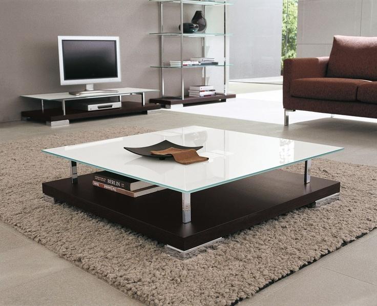 Contemporary Glass Coffee Table DRESDA Tonin Casa