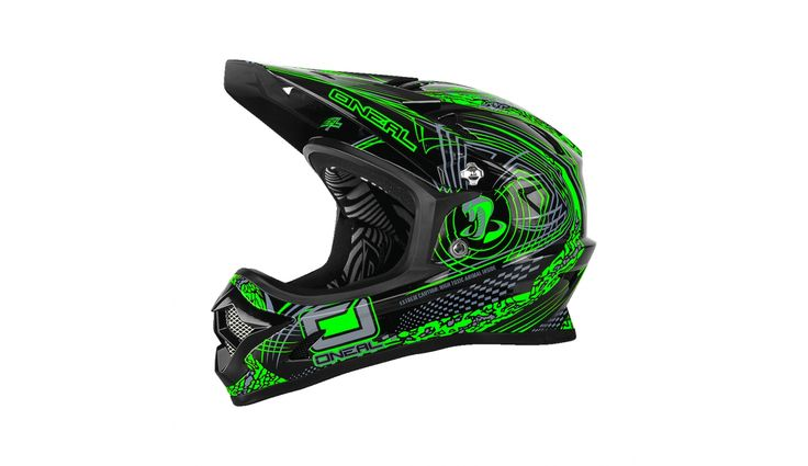 ONeal Backflip Fidlock Downhill helm RL2 Venture groen/zwart | Bestellen op…