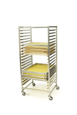 "Want more room in your dark-room? -  Screen Drying Rack w/ 20 Slots - Fits 23x31"" & 20x24"" #screenprinting #Ryonet"