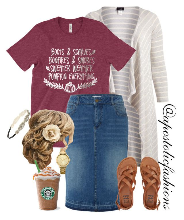 """""""Apostolic Fashions #1835"""" by apostolicfashions on Polyvore featuring Canari, White Stuff, Billabong, Oasis and Forever 21"""