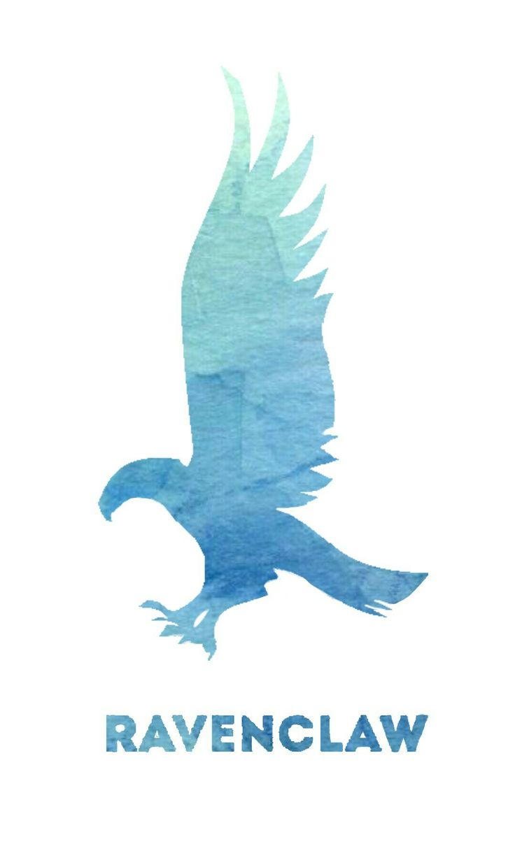 This design idea was not mine, I found the design on pinterest but recreated it for a clearer image. Anyways this can be used as a Ravenclaw phone wallpaper or printed on a phone case.