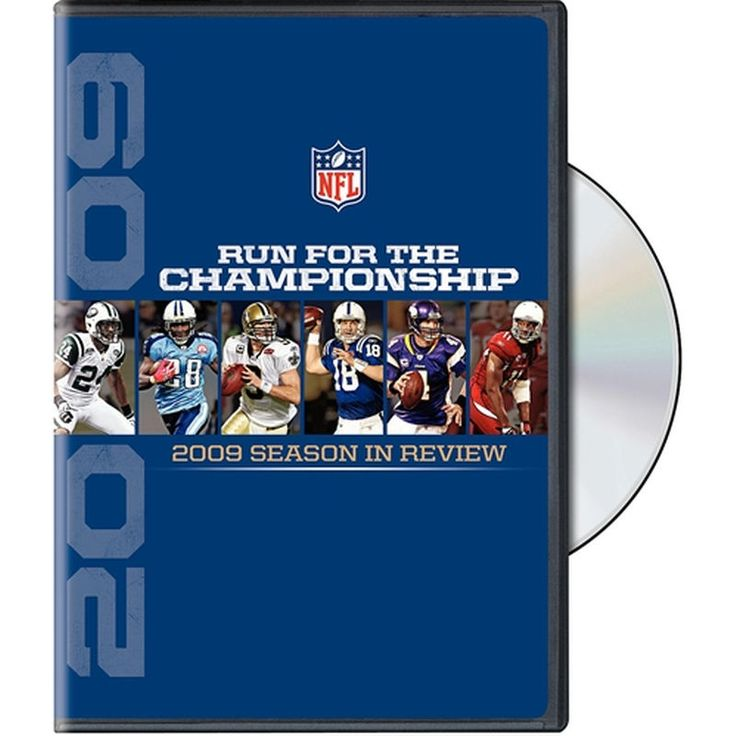 Warner Brothers NFL Run for the Championship, 2009 Season in Review DVD
