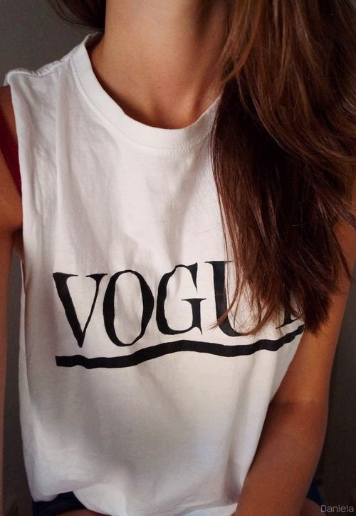 Vogue, Tee-shirt.