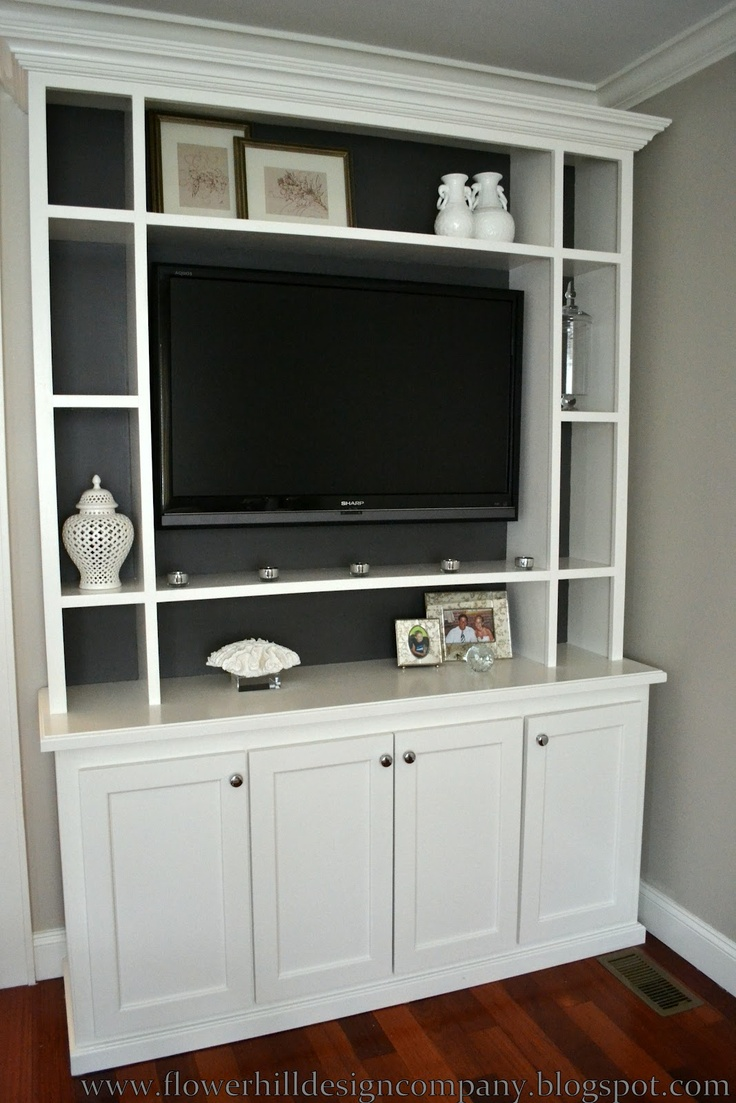 Another TV wall unit