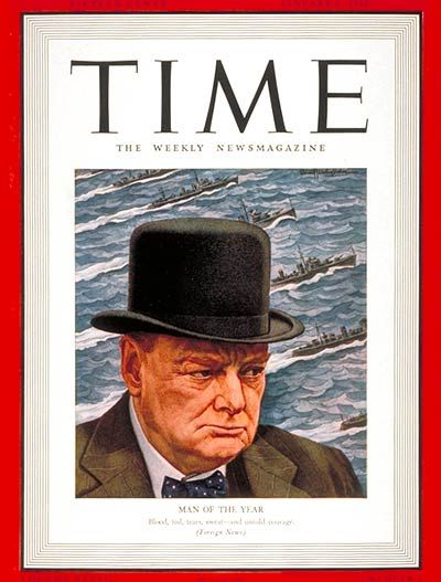 1940 TIME Magazine Person of the Year - Winston Churchill.  Churchill was a British politician, best known for his leadership of the United Kingdom during the Second World War. Widely regarded as one of the greatest wartime leaders of the 20th century.