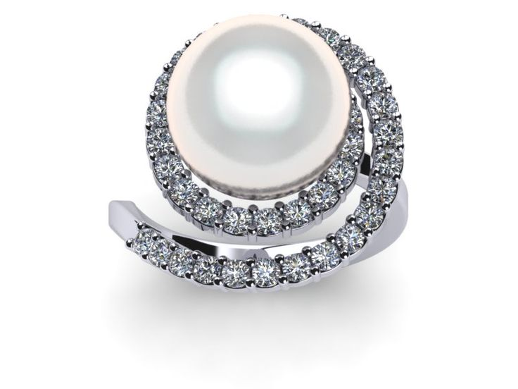 jewellery old cultured antique just and gems diamonds fine pearls gallery cut set in diamond ring with pearl