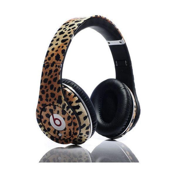 Beats By Dr.Dre Studio Leopard Headphones Limited Edition (Full Review ❤ liked on Polyvore