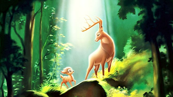 Oh deer, daddy killed Bambi's father