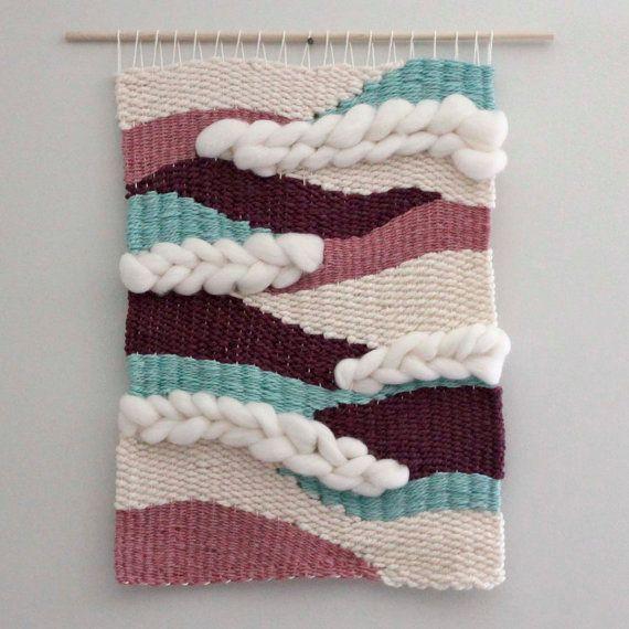 Large Weaving Wall Hanging Nursery Decor Fiber Art by EastParlor