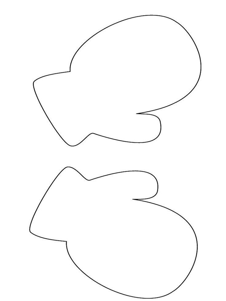 mitten template more templates library ideas 207798970280709649 mitten ...