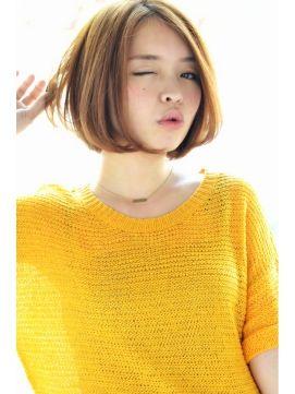 【Un ami】おしゃれガールのあごラインボブ(高橋)/Un ami omotesando 【アンアミ オモテサンドウ】をご紹介。2016年冬の最新ヘアスタイルを20万点以上掲載!ミディアム、ショート、ボブなど豊富な条件でヘアスタイル・髪型・アレンジをチェック。