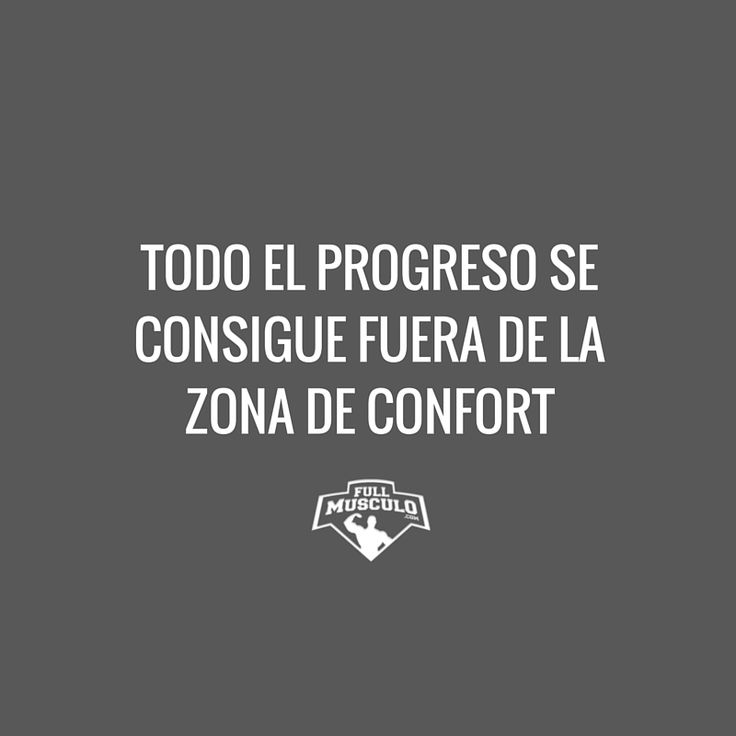 Cuando sales de tu zona de confort la magia ocurre. #Change #motivation #fitness