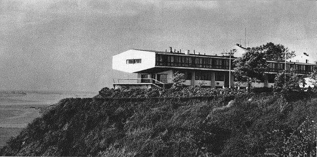 Dom Turysty w Płocku, proj. Marek Leykam, 1959 - 1962