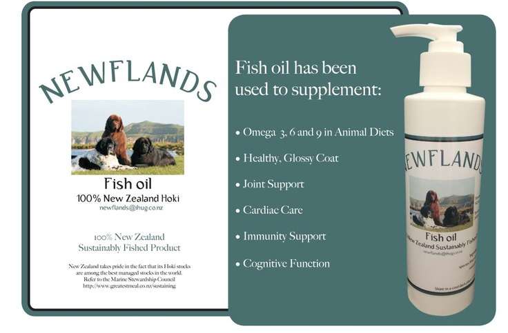 The greatest fish oil for my guys todate. Can be bought at Bombay Petfood for $25.00.