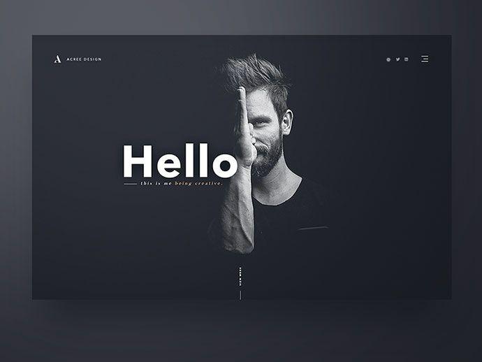 50 Excellent Dark Background Web UI Designs – Web & Graphic Design on Bashooka