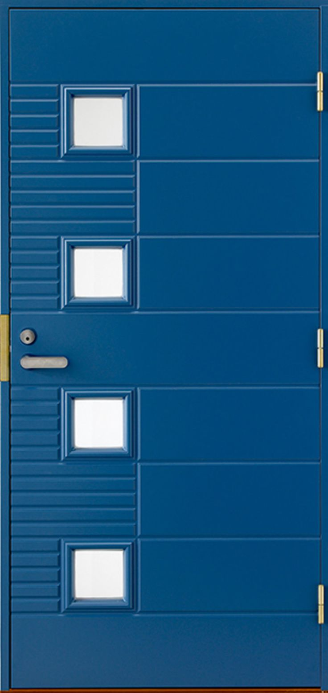Uniikki ulko-ovi omilla mitoilla. - Unique front door with any size!
