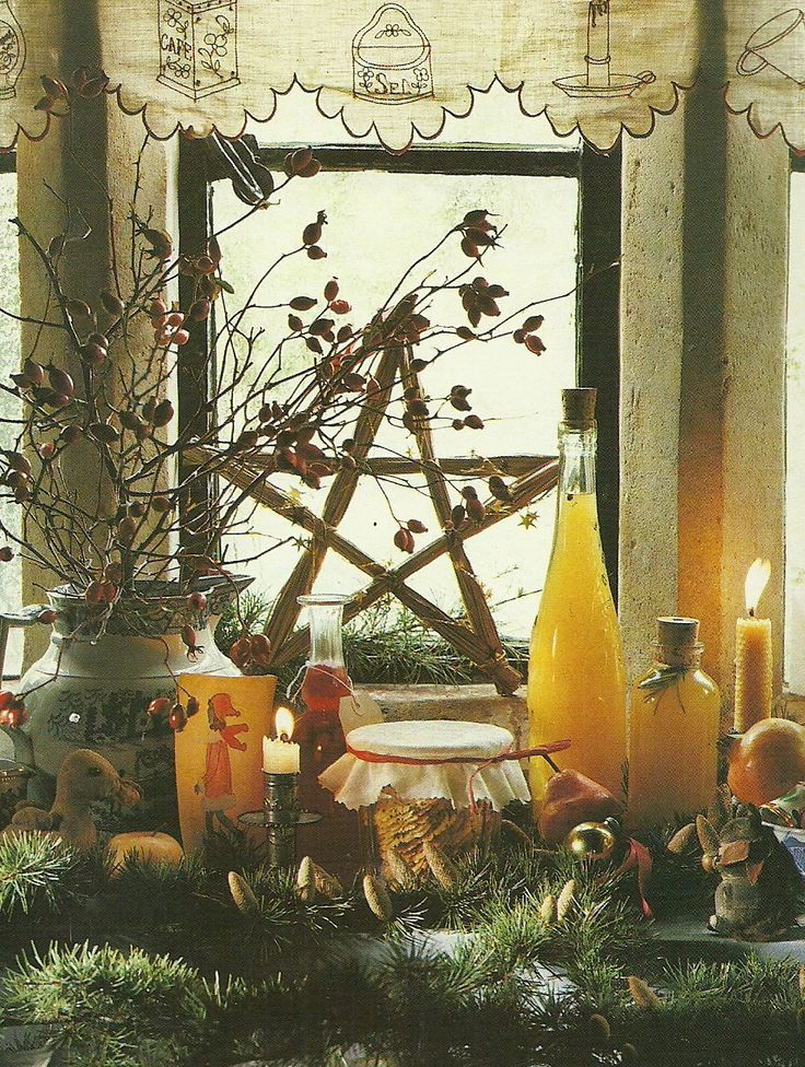 To honor this day, make an alter with various things that reflect meaning to you. This looks wonderful.