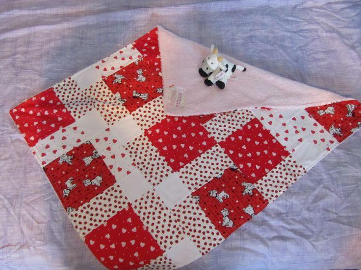 patchwork cot blanket