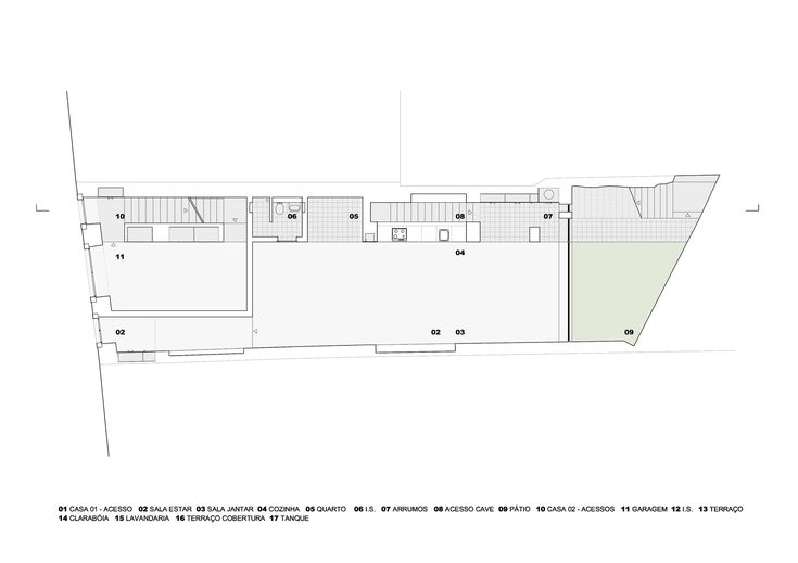 Prazeres House,Ground Floor Plan