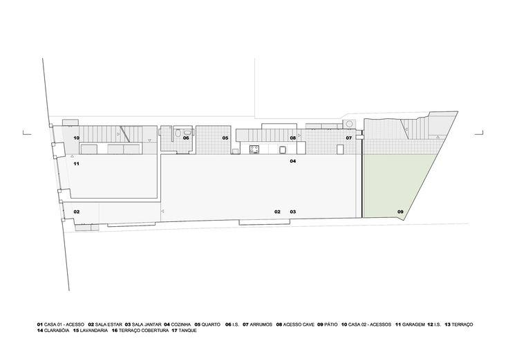 Prazeres House,Ground Floor Plan