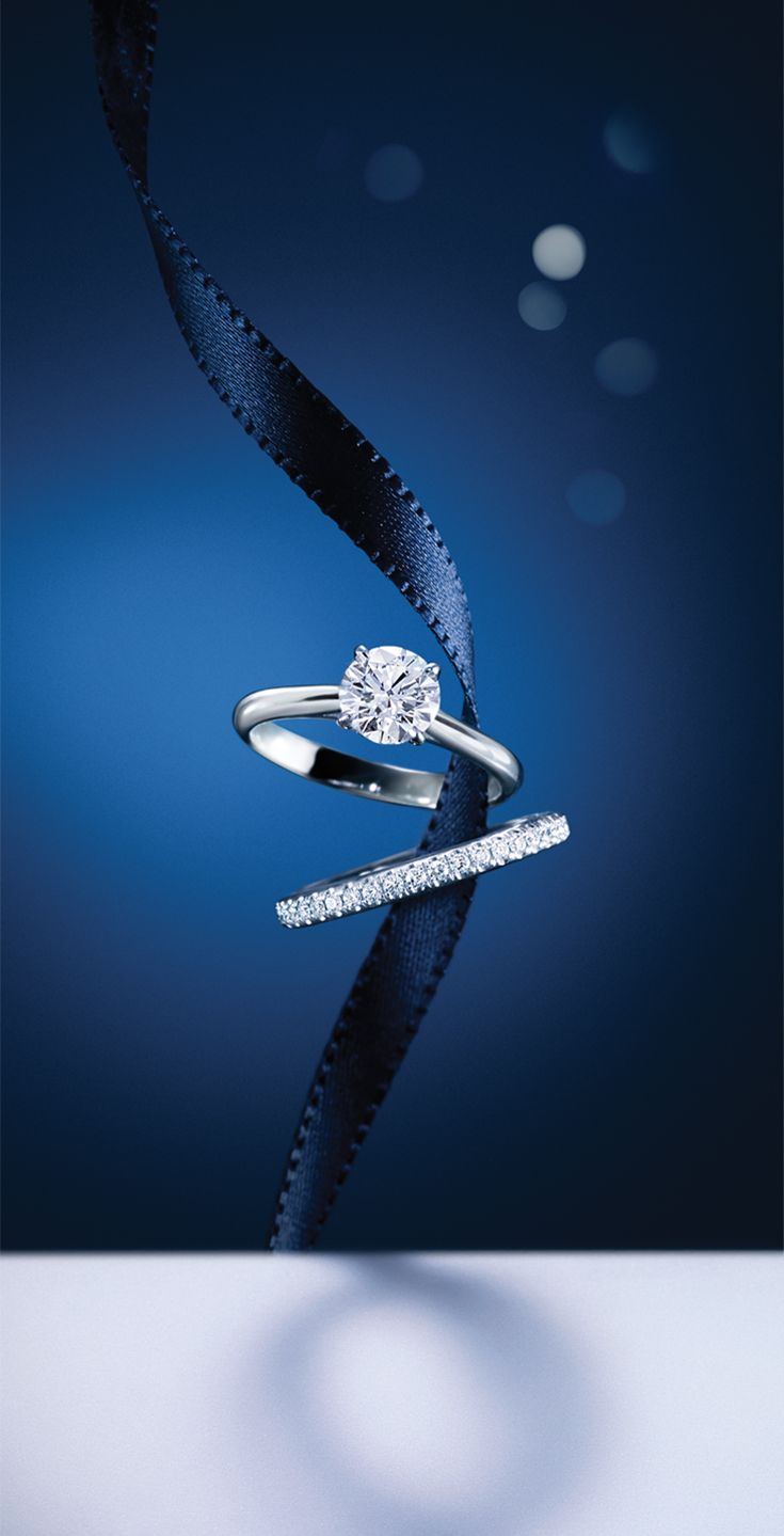 Bucherer#Solitaireand#Alliance#rings, an image of perfect unity #MomentsOfRomance