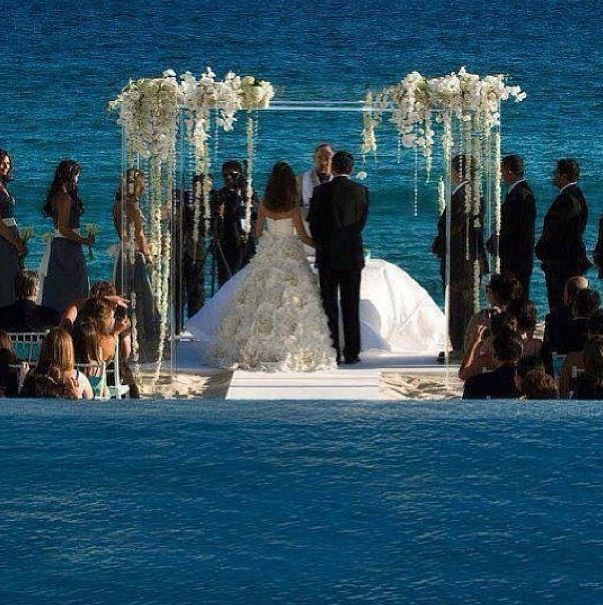 Pin By Sanaa Lathan On Love Just Married Wedding Chuppah Unique Wedding Ceremony Ideas Wedding Ceremony