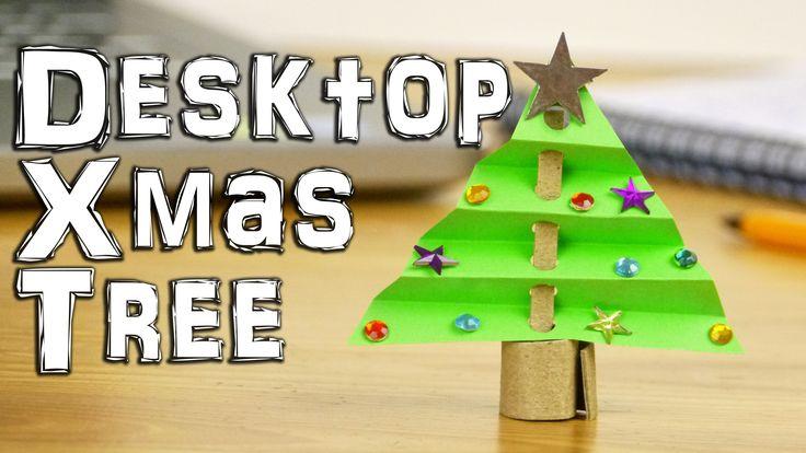 [Desktop Christmas Tree Decoration - DaveHax Youtube Tutorial]