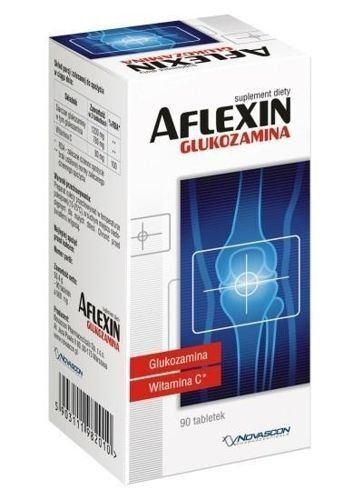 AFLEXIN Glucosamine x 90 tablets, joint pain, knee pain, joint cartilage