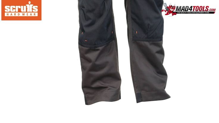 Scruffs 3D Trade Hard Wearing Graphite Grey Work Trousers (Sizes 28in-40...