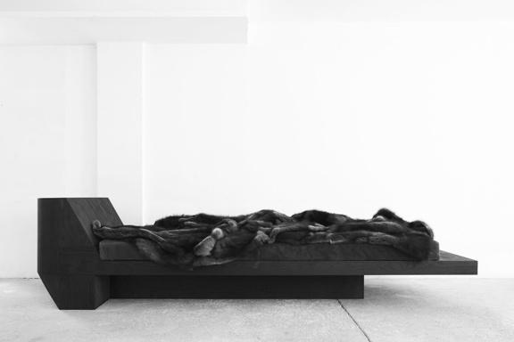 rick owens galerie pierre marie giraud lounge chairs